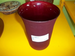 Vaso In Vetro Bordeaux