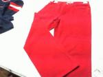 Pantaloni Donna Levi's Tg 46 Rossi