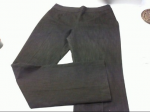 Pantaloni Donna Oltre Tg 46 Cotone Marrone Modello Classico