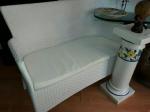Divano Giardino Bianco